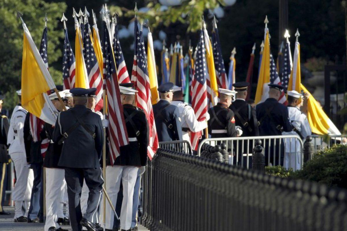 Y dará un discurso ante el Congreso de Estados Unidos en el Capitolio Foto:AFP. Imagen Por: