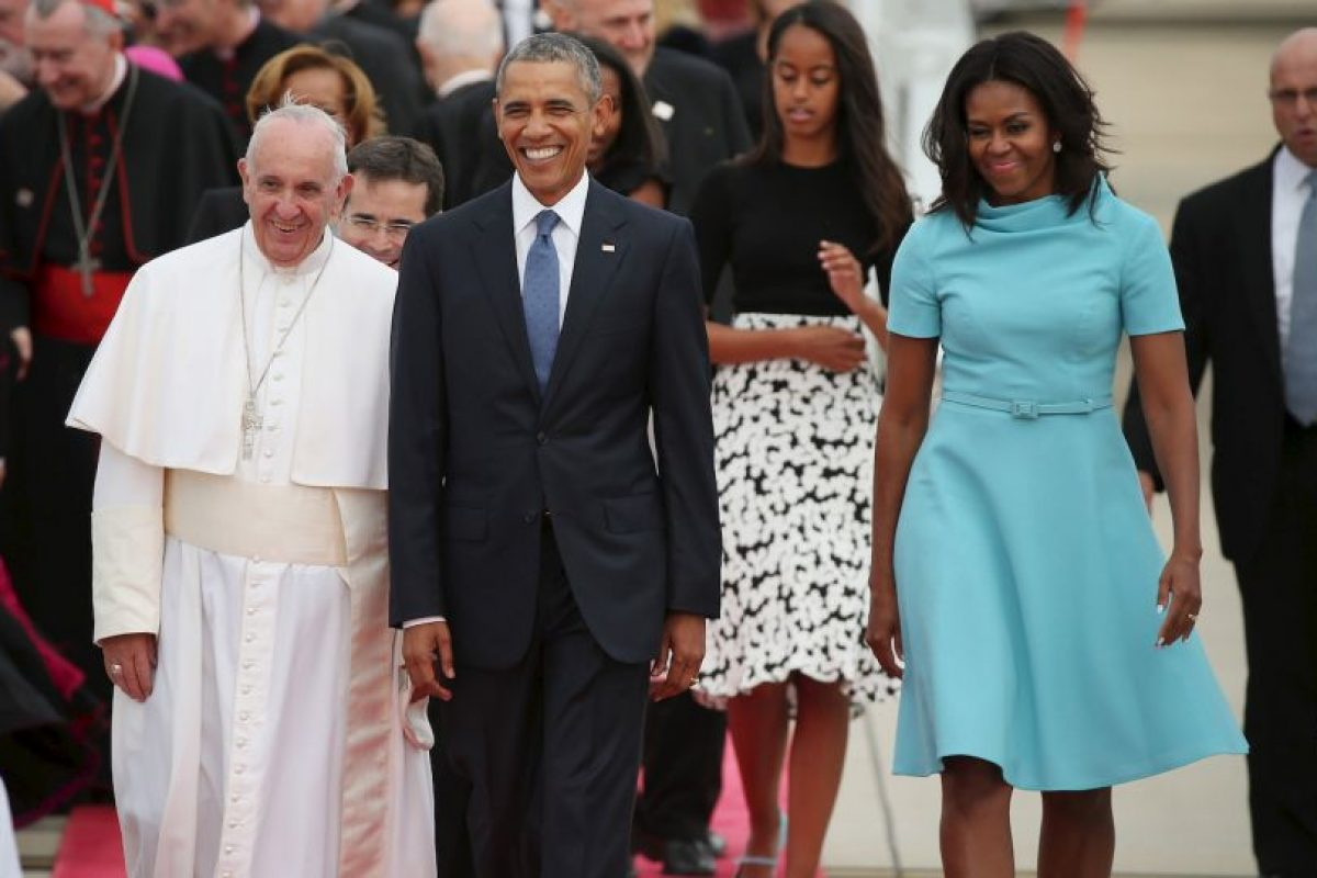 También oficiará una misa en el Madison Square Garden Foto:AFP. Imagen Por: