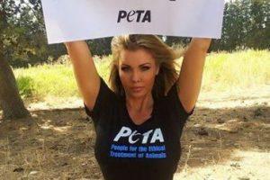 Amina Axxelson colabora con la organización de defensa de derechos de animales, PETA Foto:Facebook.com/pages/Amina-Axelsson. Imagen Por: