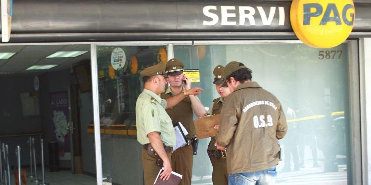 Insólito: ladrones ingresan a robar a Servipag y se llevan caja fuerte vacía