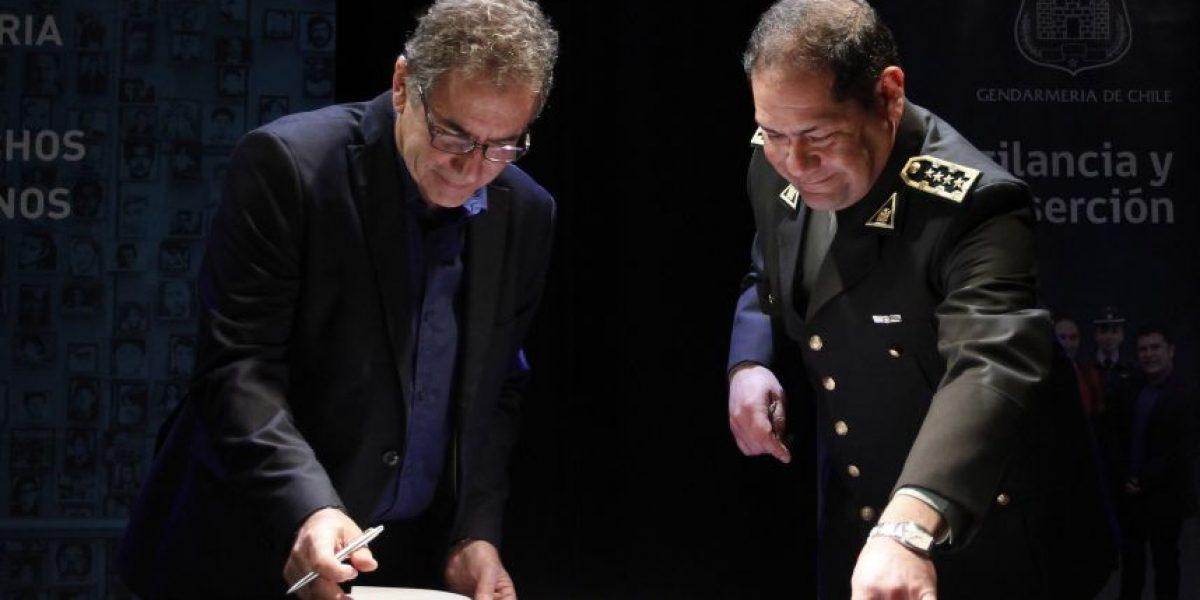 Gendarmería entregó archivos de presos políticos al Museo de la Memoria