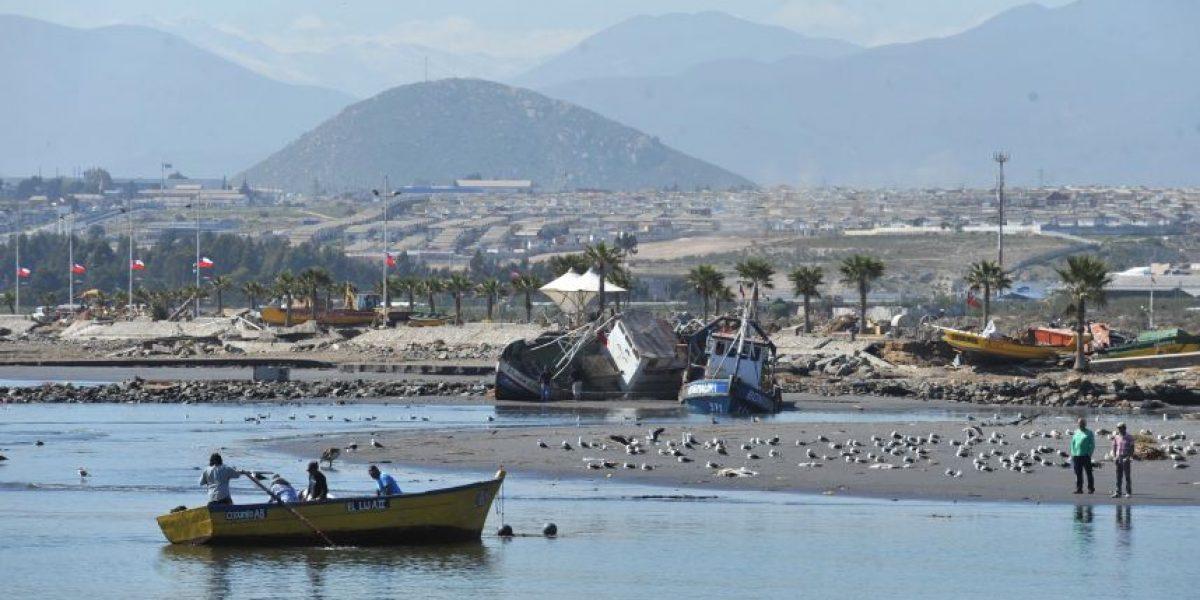 Armada rescata el cuerpo de mujer desaparecida en la zona del tsunami