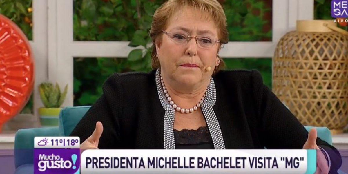 """Bachelet: """"No veo ninguna razón para renunciar ni quiero renunciar"""""""