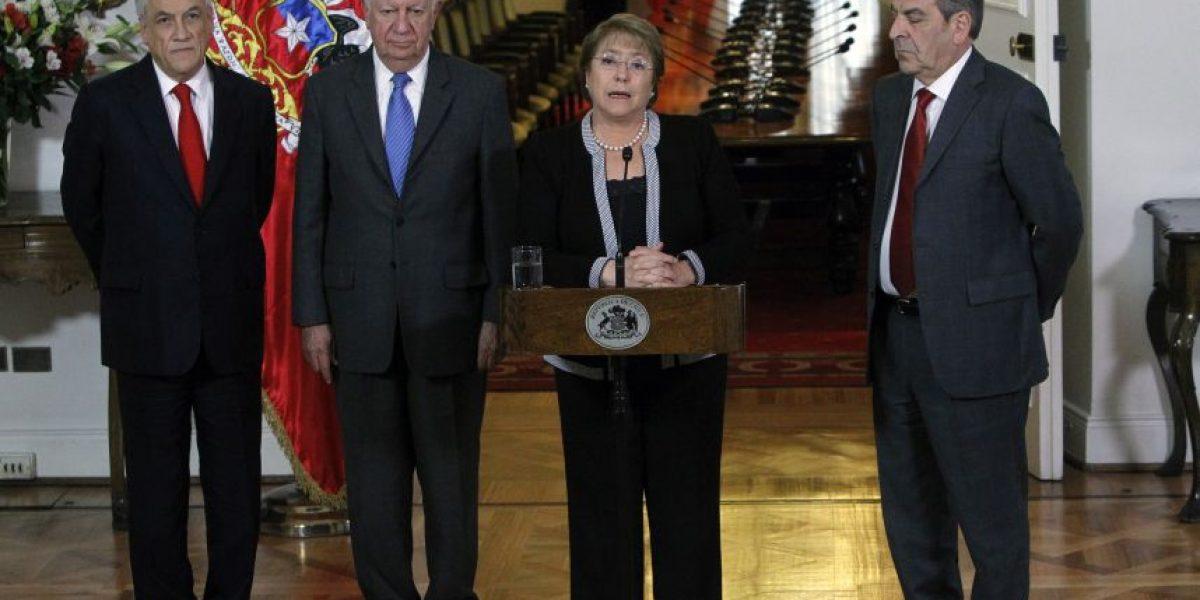 Bachelet y ex presidentes por fallo: la soberanía no está en peligro