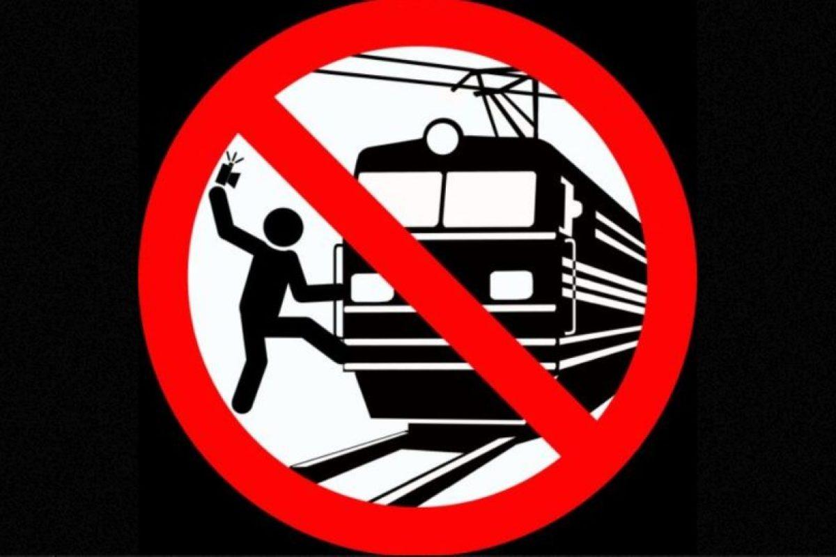 No tomarse selfies sujetados de un tren. Foto:vía mvd.ru. Imagen Por: