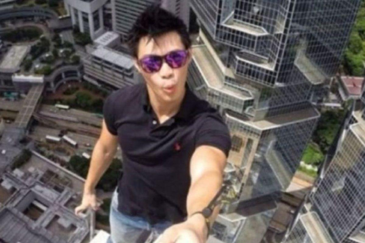 Los selfies se vuelven más peligrosos. Foto:instagram.com/daniel__lau. Imagen Por:
