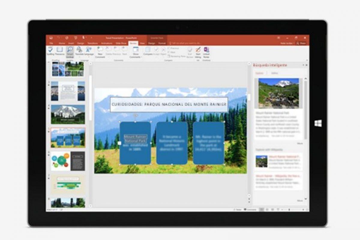 La paquetería también trabaja con comandos. Foto:Microsoft. Imagen Por: