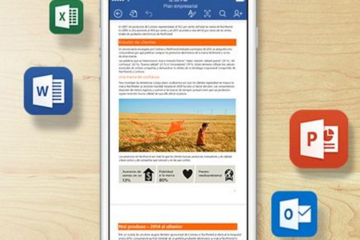 Tiene aplicaciones para diferentes sistema operativos. Foto:Microsoft. Imagen Por: