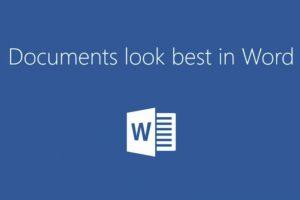 Word para escribir documentos. Foto:Microsoft. Imagen Por: