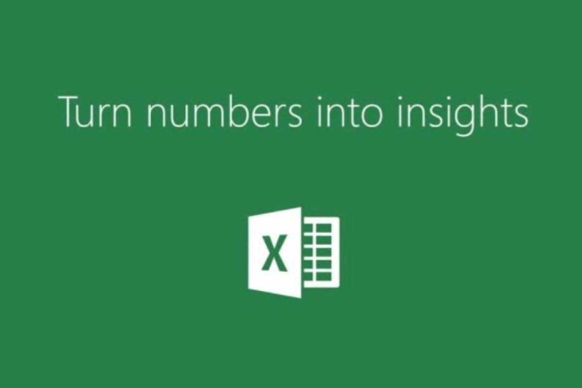 Excel les permite crear gráficos y bases de datos. Foto:Microsoft. Imagen Por: