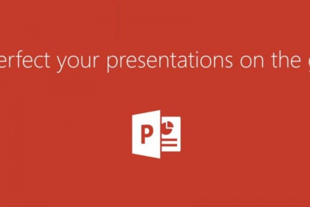 Para las presentaciones está PowerPoint. Foto:Microsoft. Imagen Por: