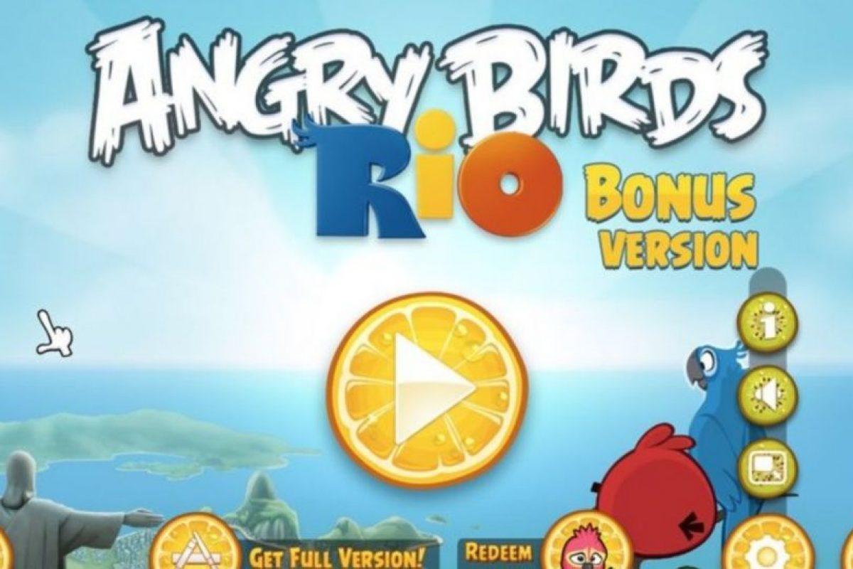 Angry Birds Rio (2011). Foto:Rovio. Imagen Por: