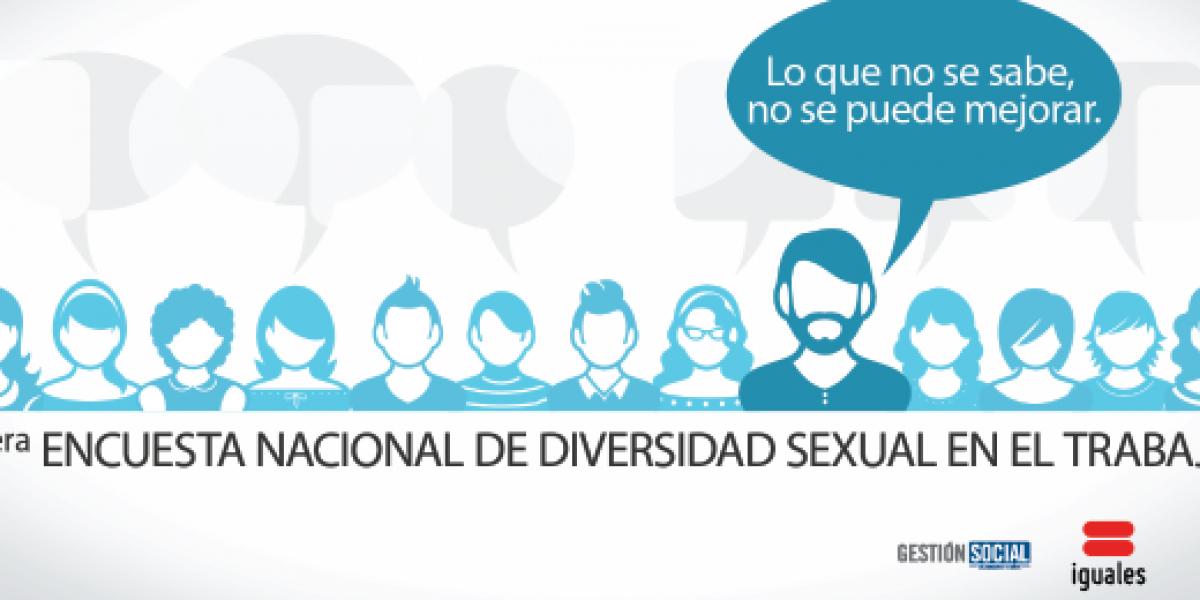 Lanzan 1° Encuesta Nacional sobre Diversidad Sexual en el Trabajo