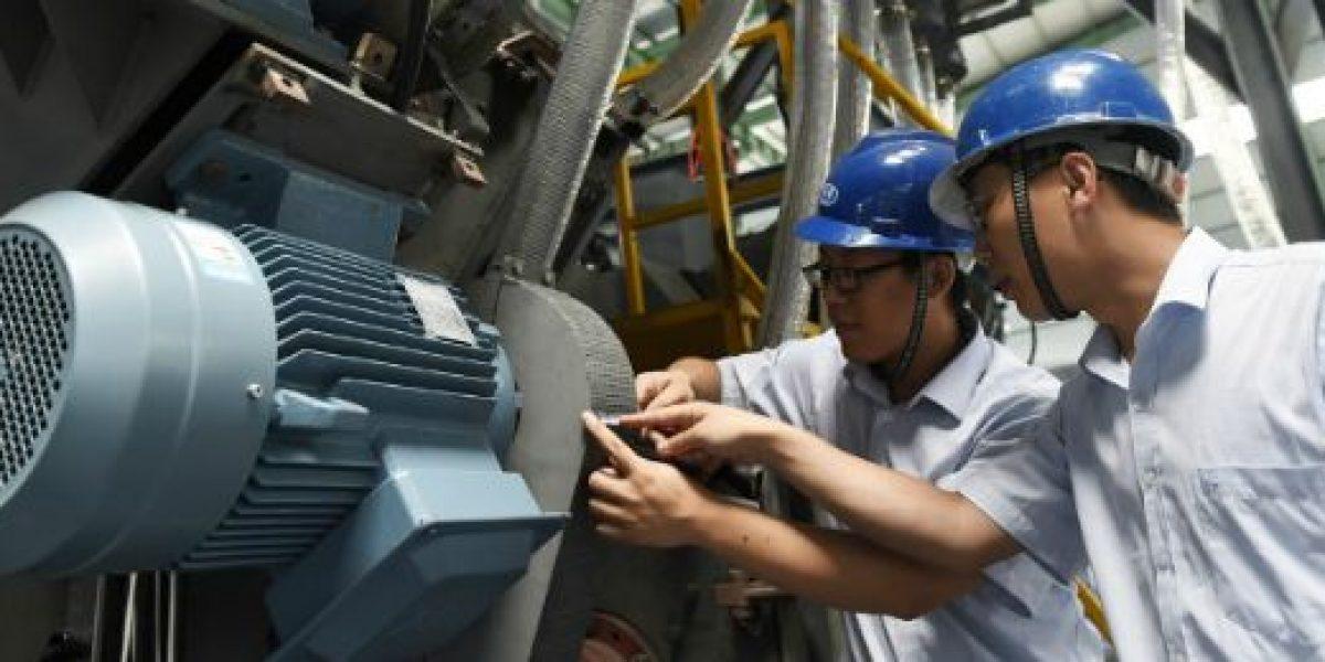 Actividad manufacturera china registra su peor nivel en 6,5 años