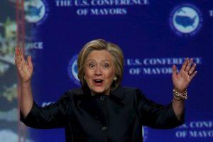 Esta es la segunda ocasión en que Clinton intentará ganar la nominación del Partido Demócrata. La primera fue en 2008. Foto:Getty Images. Imagen Por: