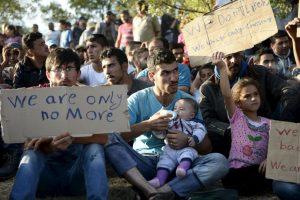 """""""Existen 8 millones de personas desplazadas solamente en Siria"""" Foto:Getty Images. Imagen Por:"""