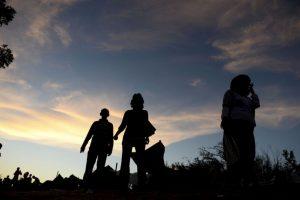 """""""Cuatro millones han viajado a Turquía, Líbano, Jordania e Irak"""", aseguró Tusk Foto:Getty Images. Imagen Por:"""
