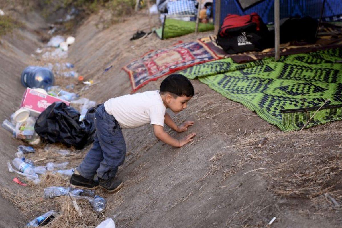 """Por lo tanto """"estamos hablando de millones de potenciales refugiados que intentarán llegar a Europa"""" Foto:Getty Images. Imagen Por:"""