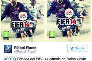 """Algo similar ocurrió en 2013, cuando Gareth Bale, quien militaba en el Tottenham de la la liga Premier de Inglaterra, fue fichado por el Real Madrid días antes de que el videojuego """"FIFA 14"""" fuera lanzado Foto:Twitter. Imagen Por:"""