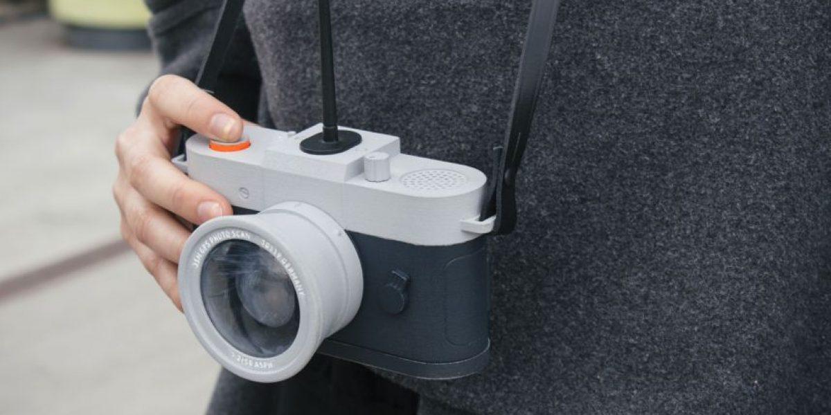 Con esta cámara literalmente podrán tomar fotos como nadie