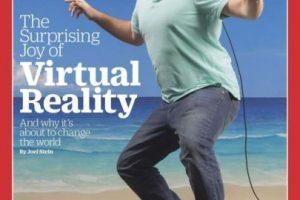 """Esta es la portada original de la revista """"Time"""" dedicada a la realidad virtual Foto:TIME. Imagen Por:"""