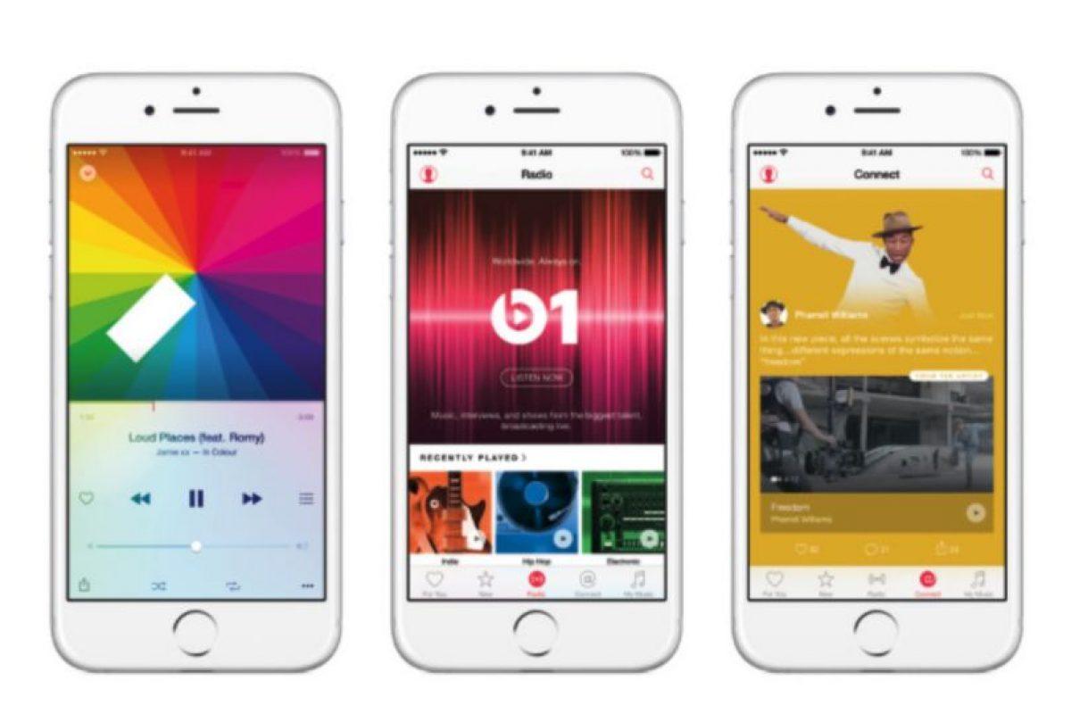 """4) """"Streaming"""" de video y sin anuncios Foto:Apple. Imagen Por:"""
