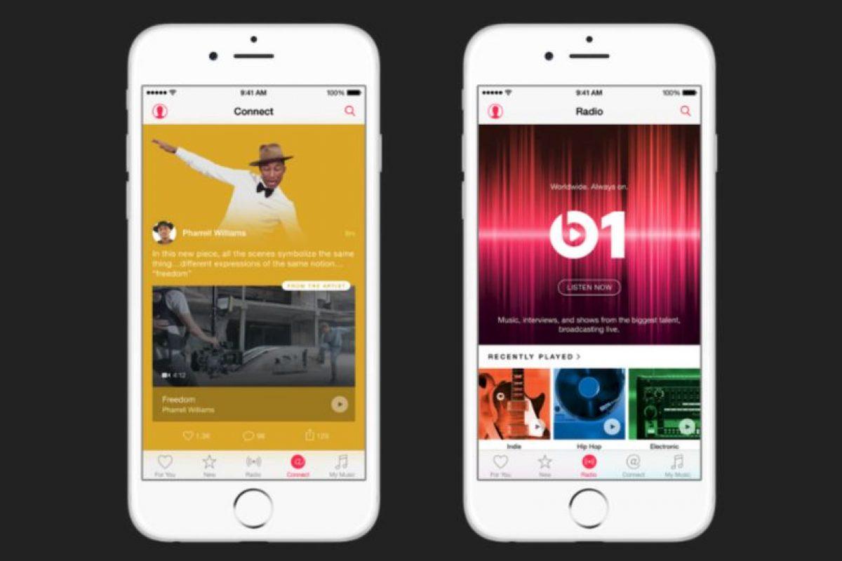 3) Disponible en 100 países, a diferencia de los 55 de Spotify Foto:Apple. Imagen Por: