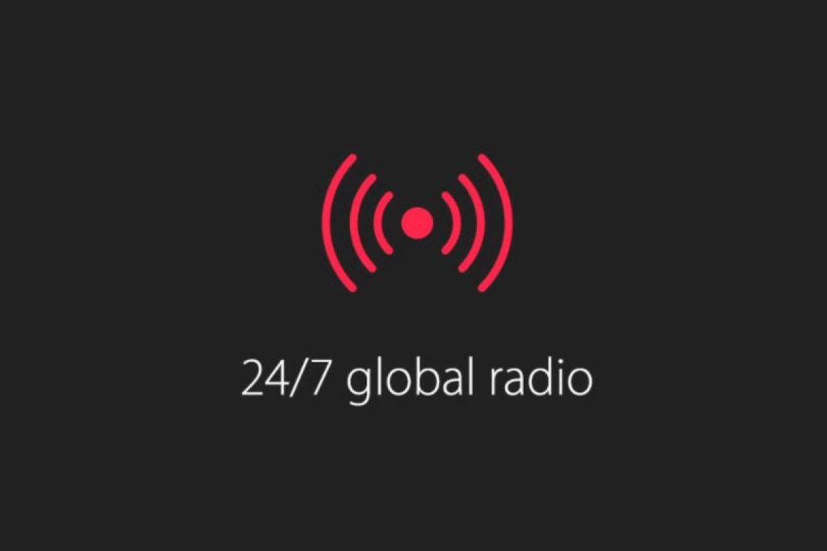 2) Radio las 24 horas del día y los siete días de la semana Foto:Apple. Imagen Por:
