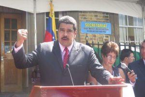 Venezuela se ha comprometido a ayudar al desarrollo de aquel país. Foto:Vía Twitter @thomasramirezs. Imagen Por: