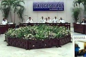 De acuerdo con el presidente colombiano Juan Manuel Santos, el acuerdo final se firmara durante los siguientes seis meses. Foto:AFP. Imagen Por: