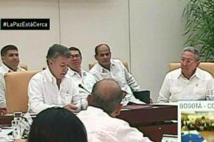 En la reunión estuvo presente el presidente cubano Raúl Castro. Foto:AFP. Imagen Por: