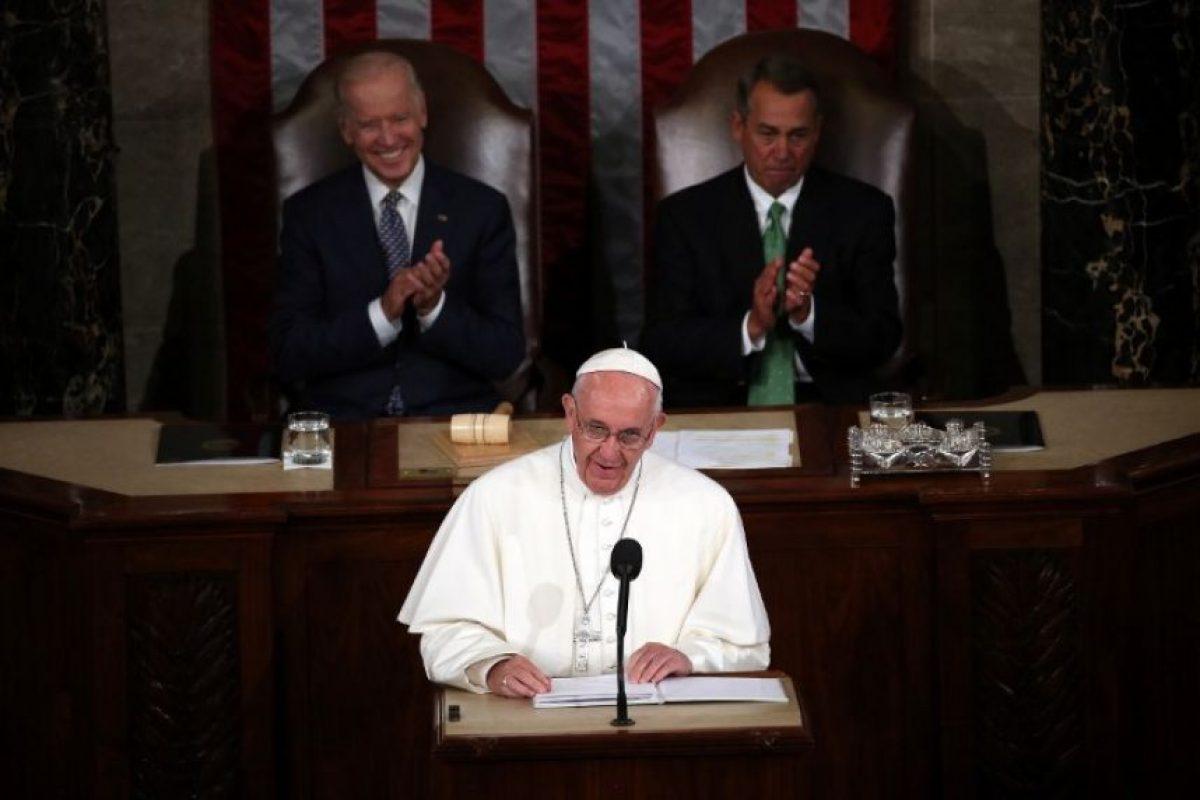 """""""Pero esa mejoría tiene que incluir a la Tierra, el tema central de la encíclica que recientemente escribí"""" Foto:AFP. Imagen Por:"""