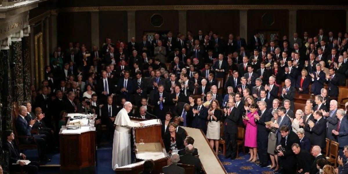 El Papa pide en el Congreso de EE UU la abolición de la pena de muerte