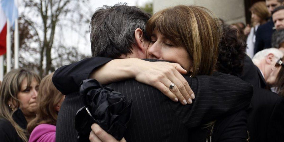 Ministra Rincón asistió a misa fúnebre de concesionario asesinado en Recoleta