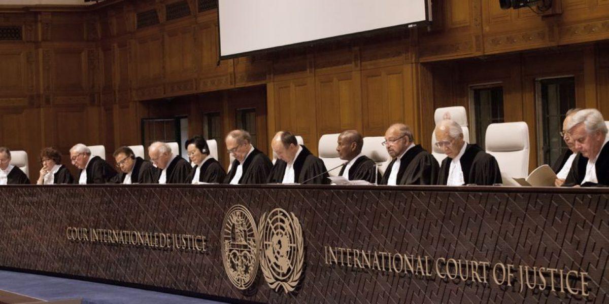 ¿Qué dice el artículo 31 del Pacto de Bogotá citado por los jueces?