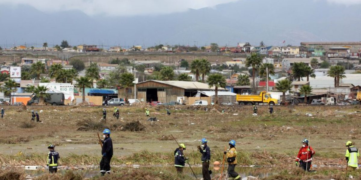 Encuentran restos de nueva víctima del terremoto que azotó a Coquimbo