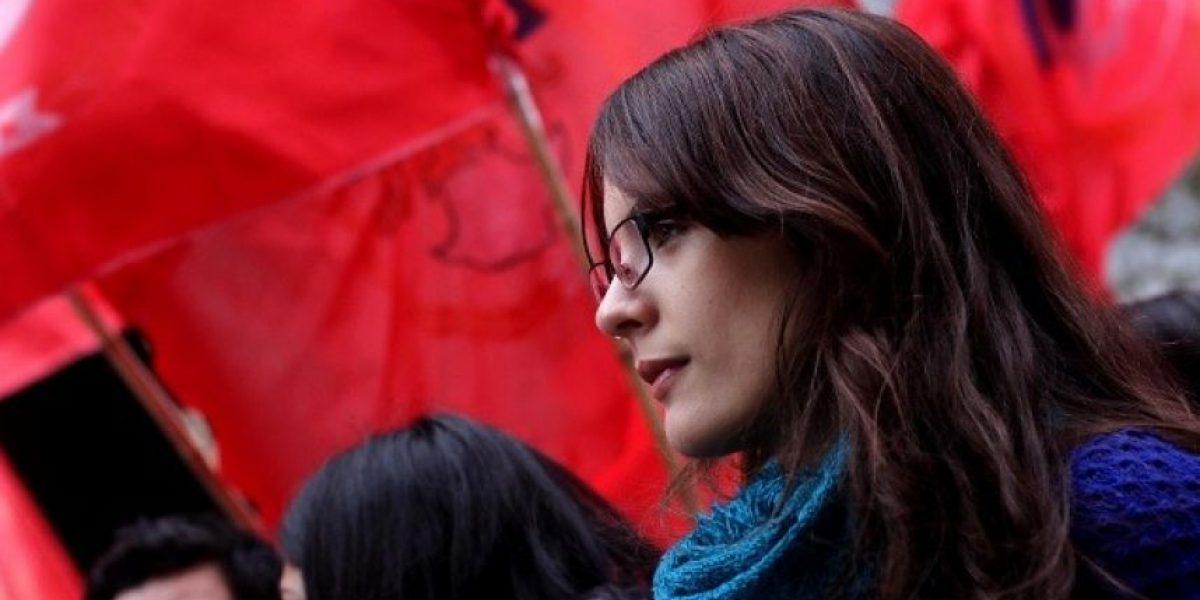 ¿Por qué Camila Vallejo aparece en tuiteo de ministerio boliviano?