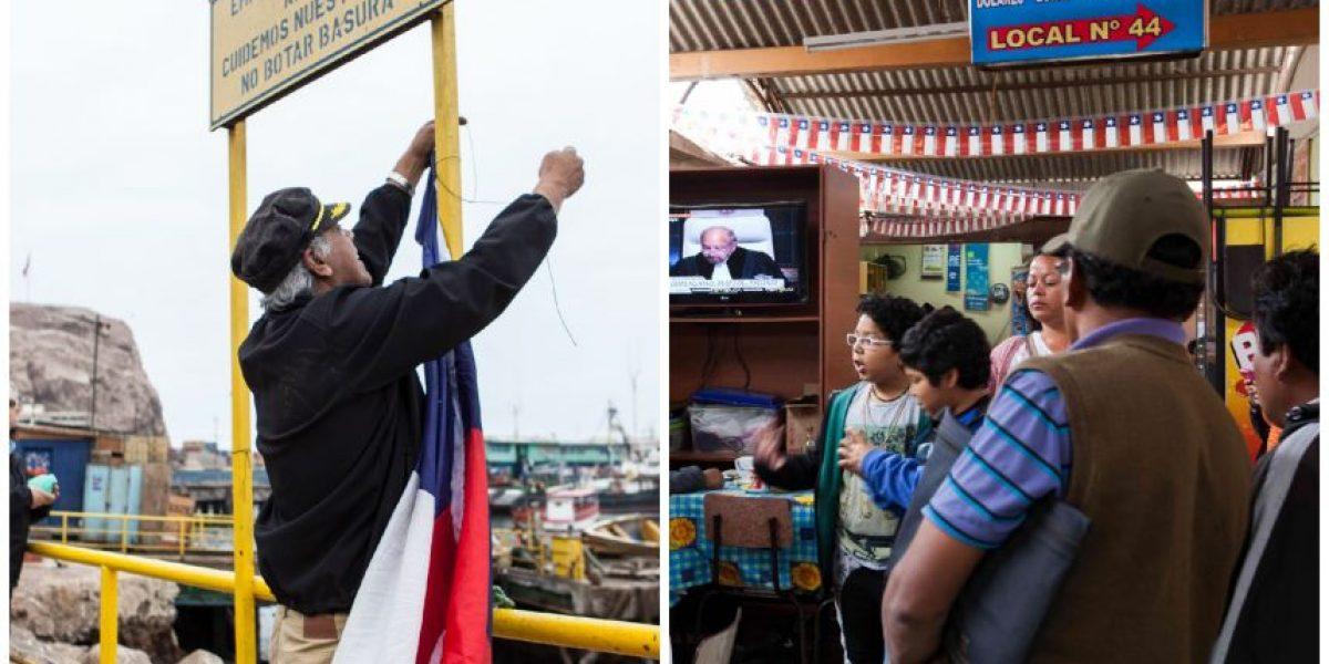 Pescadores y camioneros: así Arica vivió el fallo de La Haya