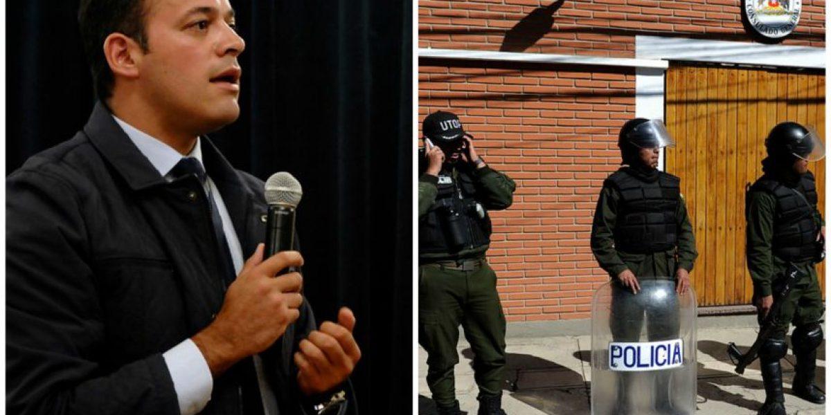 Canal 13 acusa a policía boliviana de hostigamiento a periodistas en La Paz