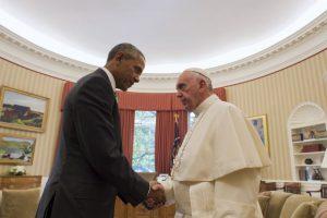 El Papa se reunió ayer en la Casa Blanca con el presidente Barack Obama Foto:AP. Imagen Por: