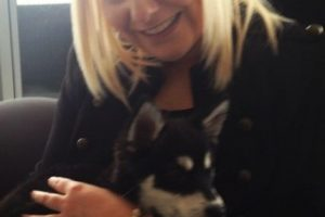 Por su parte, Ruth es una amante de los animales y dedica gran parte de su tiempo a rescatar perros. Foto:vía instagram.com/roo0990. Imagen Por: