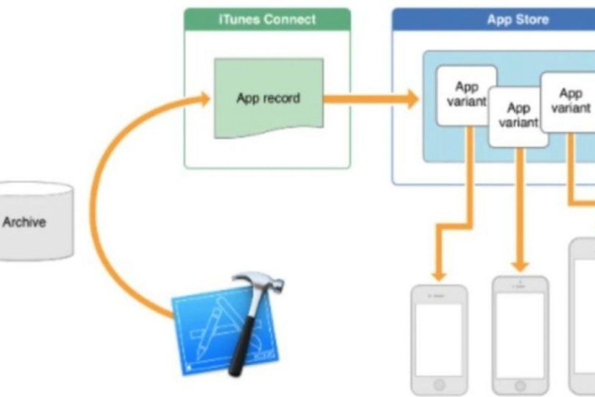 App Thinning es una función que descargará las aplicaciones dependiendo del modelo de iPhone o iPad que tengan. Así, adecuará la descarga con solo los bits que necesiten en su aparato. Foto:Apple. Imagen Por: