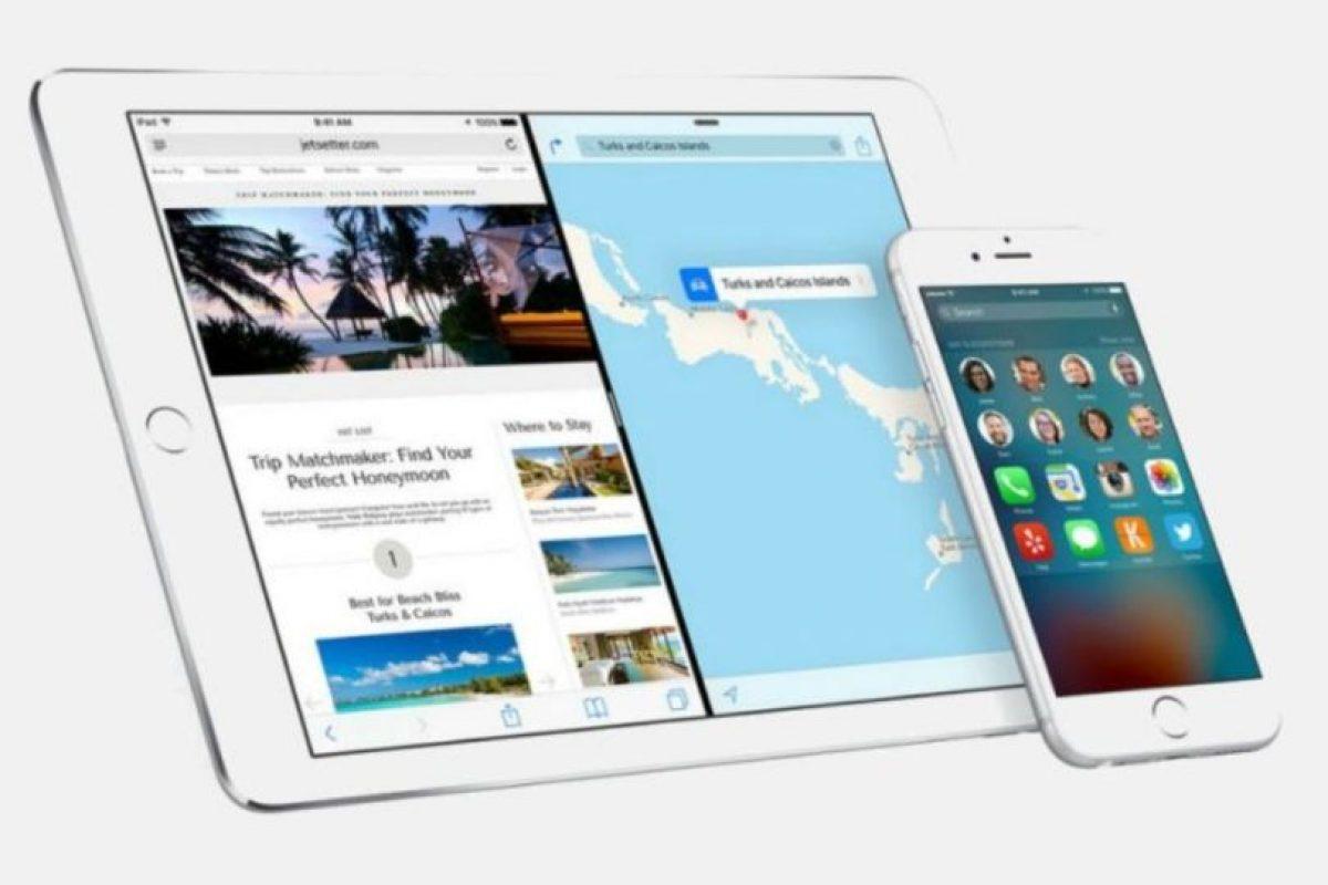 Al menos el 50% de los dispositivos Apple compatibles ya tienen iOS 9. Foto:Apple. Imagen Por: