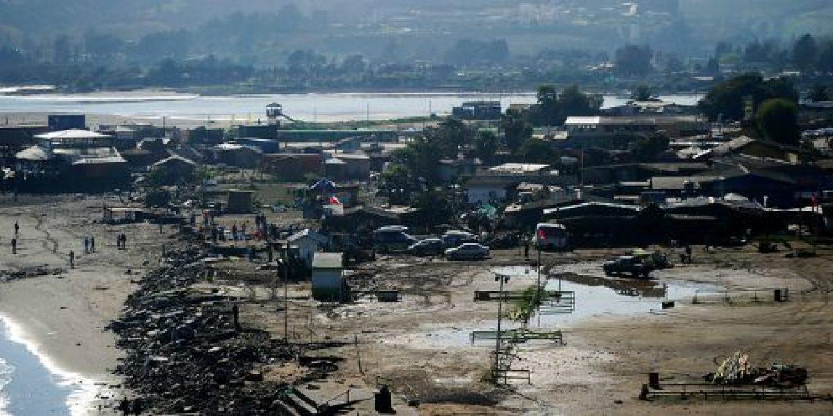 Casi 400 embarcaciones fueron afectadas por el tsunami