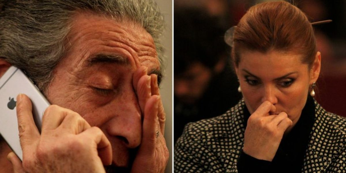 Diputados Andrea Molina y Jorge Tarud sufrieron con el fallo de La Haya
