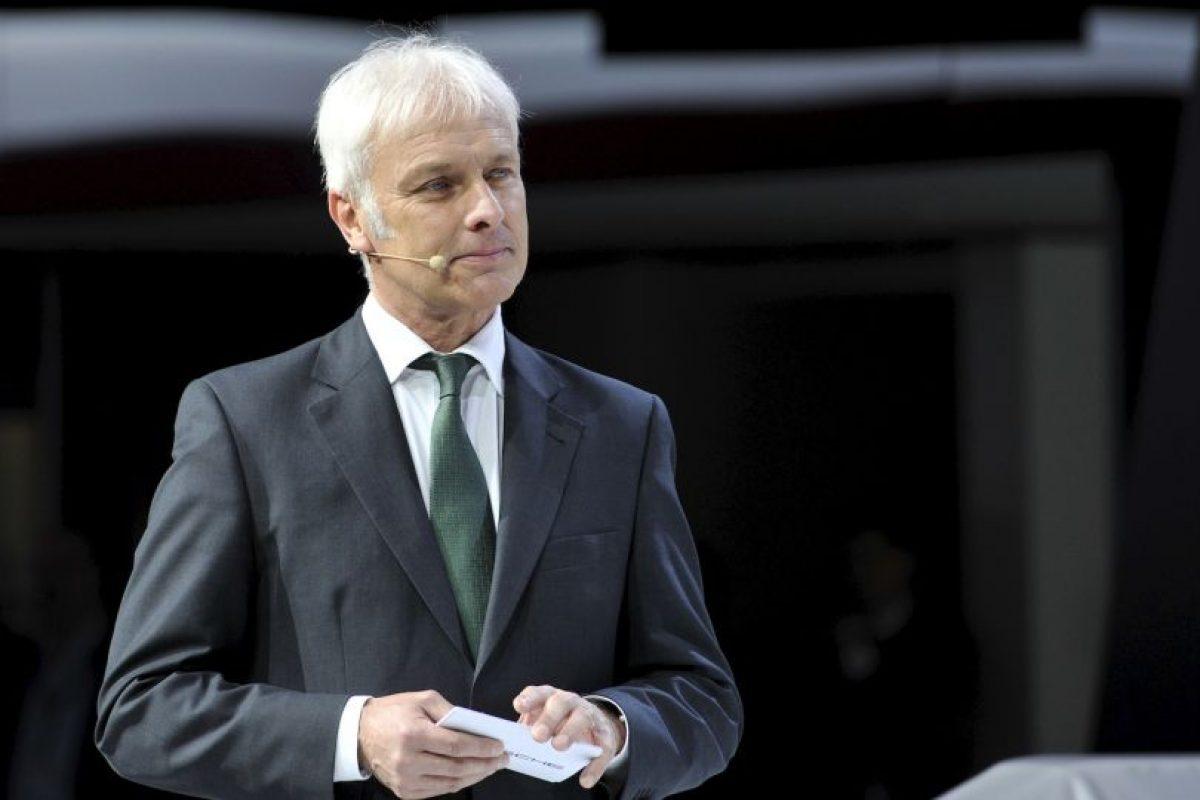 Como primera opción se ha tomado en cuenta al jefe ejecutivo de la marca Porsche. Foto:Getty Images. Imagen Por: