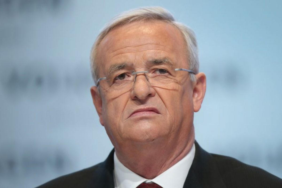 Martin Winterkorn tuvo que dejar su cargo como CEO luego del reciente escándalo de la compañía. Foto:Getty Images. Imagen Por: