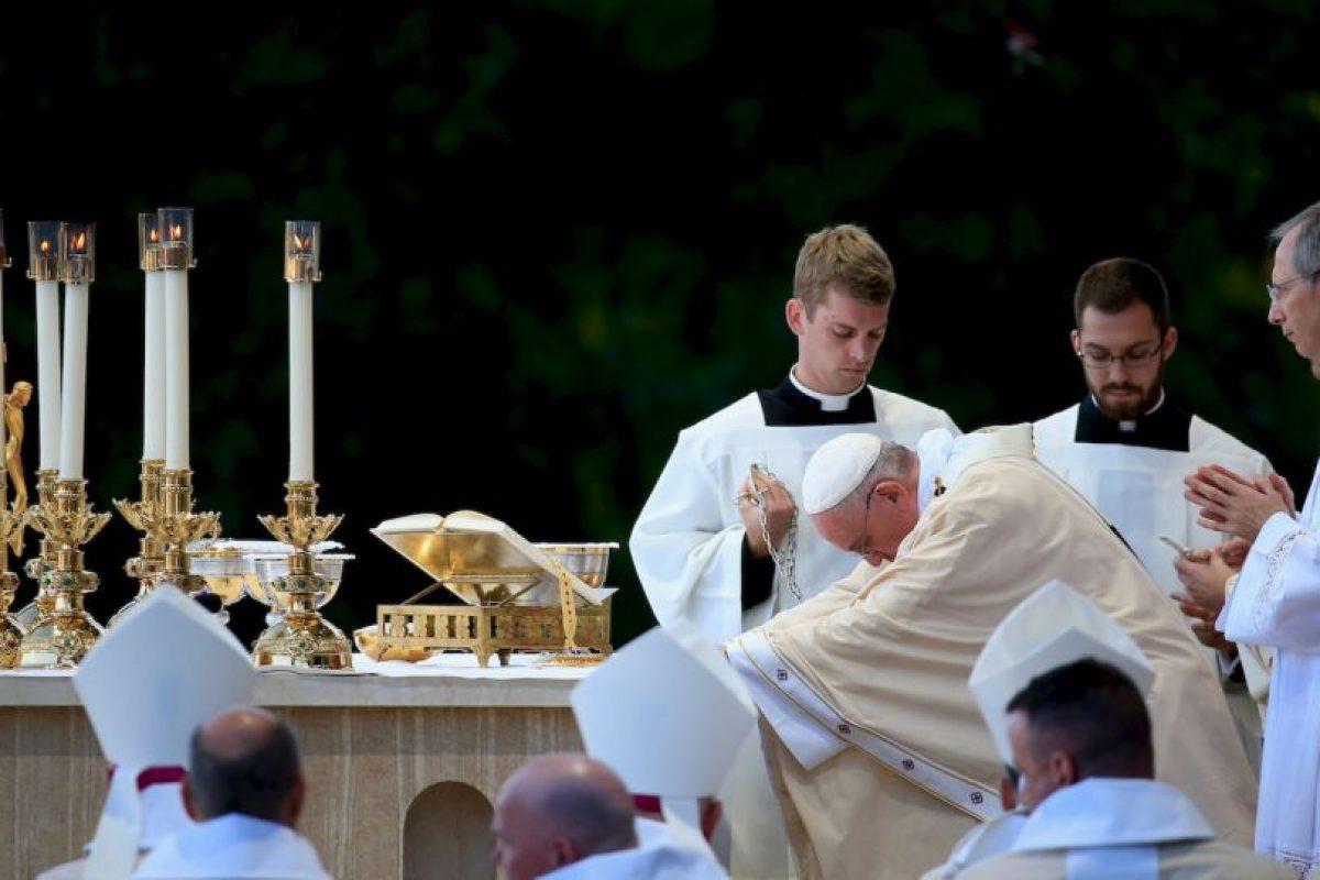 """""""Una pena justa y necesaria nunca debe excluir la dimensión de la esperanza y el objetivo de la rehabilitación"""", sostuvo el papa. Foto:Getty Images. Imagen Por:"""