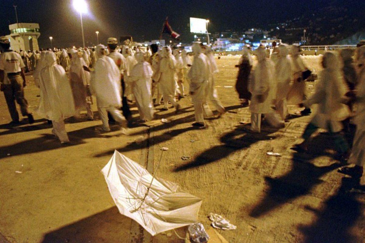 La cual dejó más de 700 heridos Foto:AP. Imagen Por: