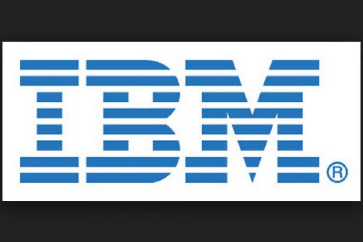 IBM es una compañía multinacional estadounidense de tecnología y consultoría Foto:IBM. Imagen Por: